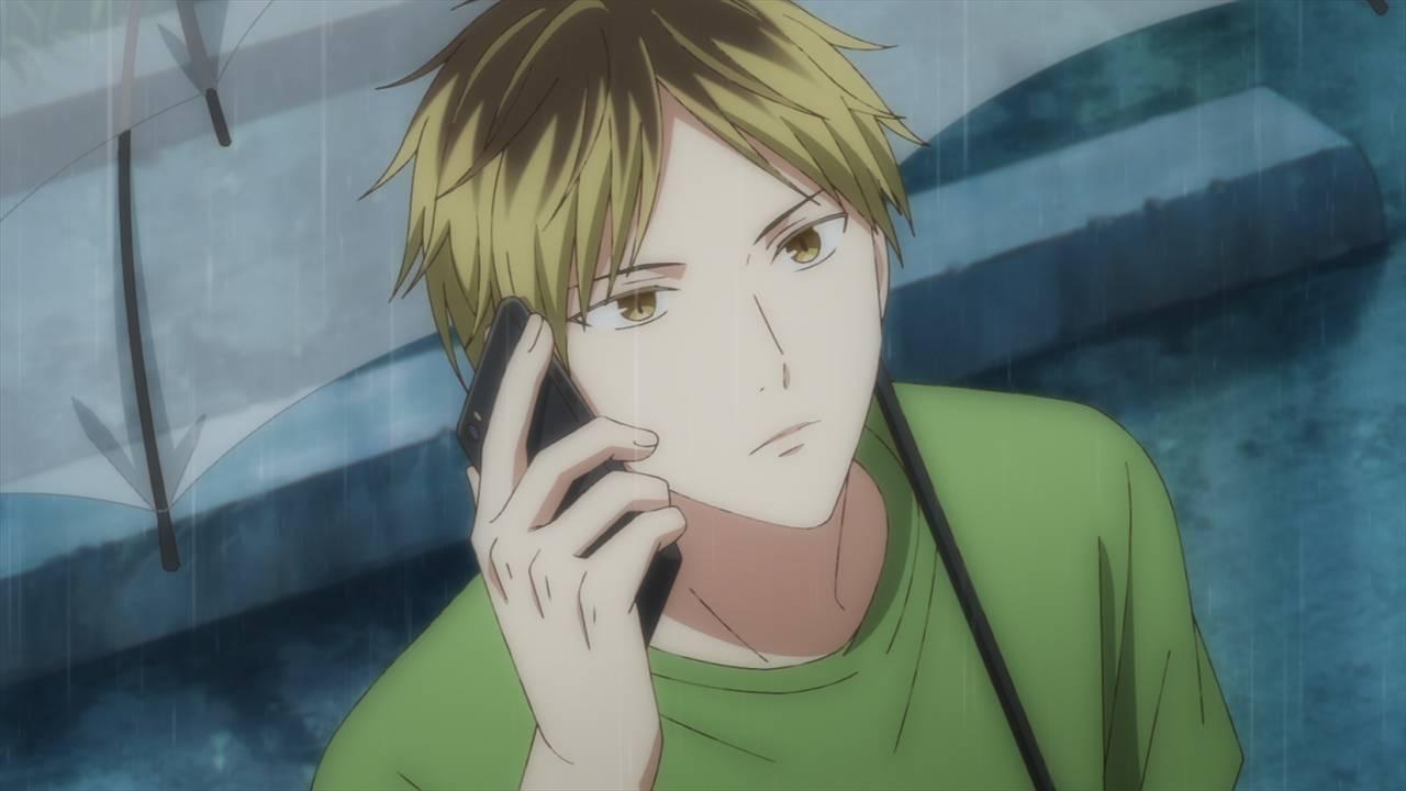 ノイタミナアニメ『ギヴン』第8話の先行カットが解禁!真冬のギターについて知る鹿島柊が訪ねてきて…?
