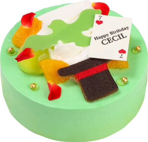 愛島セシルのバースデーケーキは「マジック」を表現♪ 『うたの☆プリンスさまっ♪』バースデーケーキ企画第7弾!