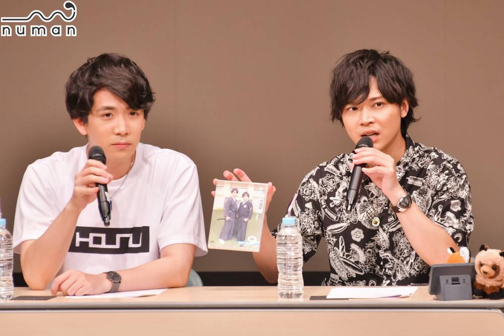 伊東健人&狩野翔が猫に悶絶♡「あっ舐められた…!」『スイどう』DVD先行発売記念イベントレポート