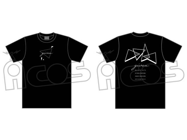 シンプルでカッコいい! 『ギヴン』バンドイメージTシャツが発売決定!