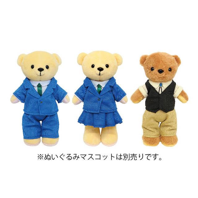 新一、蘭、安室がラインナップ♪ 『名探偵コナン』くまめいと用ミニチュア衣装が登場!