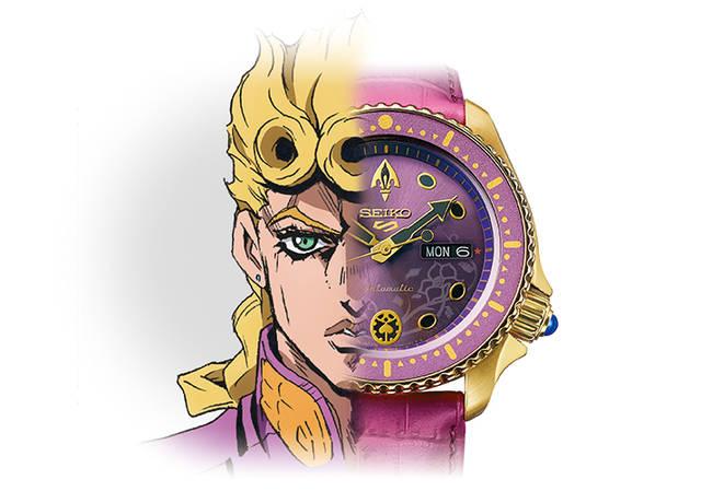 『ジョジョの奇妙な冒険 黄金の風』×「セイコー5スポーツ」コラボ時計が登場