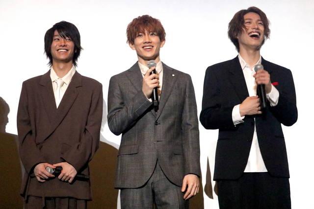 【速報】赤澤遼太郎、立石俊樹、北川尚弥ら映画『先生から』舞台挨拶の写真を公開!