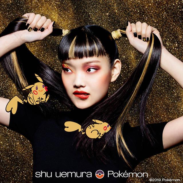 『ポケモン』×「シュウ ウエムラ」ホリデーコスメ発売間近♪ ピカチュウのキュートなメイクアイテム多数