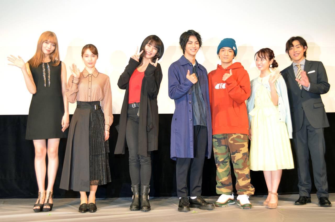 MBS/TBSドラマイズム『左ききのエレン』制作発表会|神尾楓珠さん、池田エライザさんらが登壇!