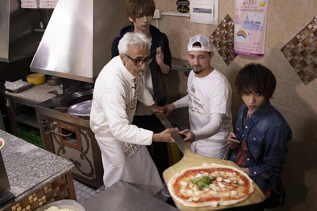 植田圭輔&染谷俊之がピザ職人に!?『たびメイト Season2』第4話の先行カット&あらすじ公開