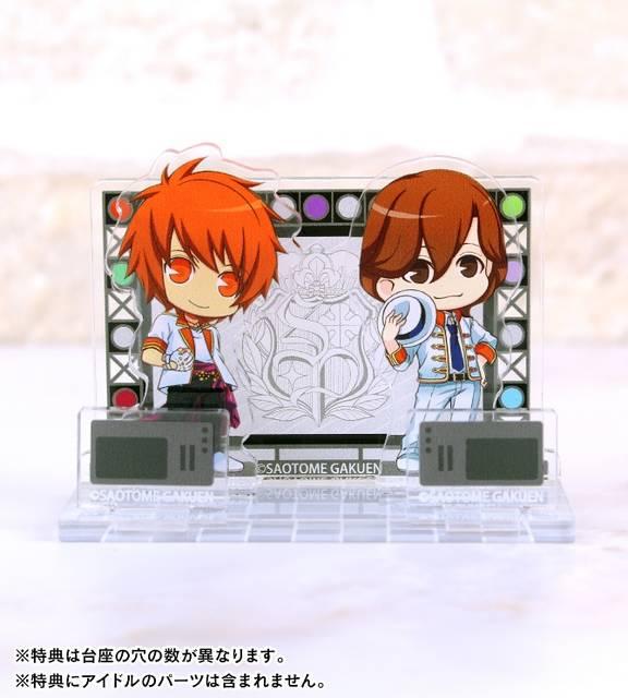 『うたの☆プリンスさまっ♪』トレーディングジオラマ風アクリルスタンドの受注が開始!