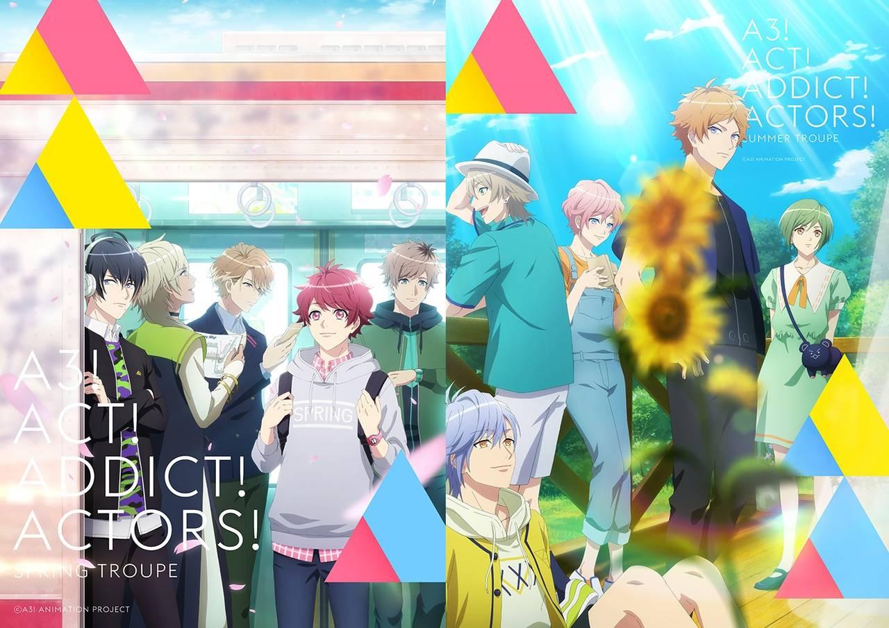 TVアニメ『A3!』放送開始日が決定!さらにA3ders!によるOP主題歌の発売日も解禁