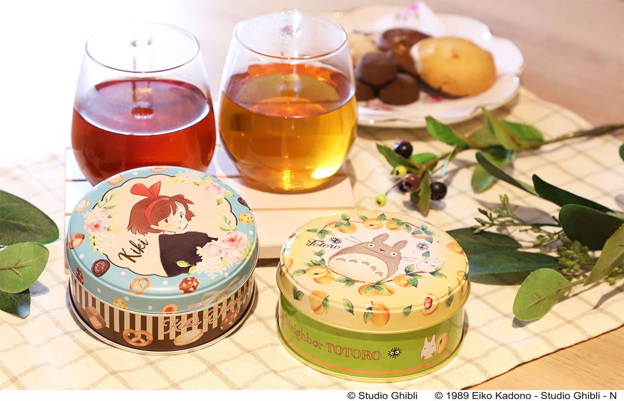 『となりのトトロ』『魔女の宅急便』×お茶専門店「ルピシア」! 缶も茶葉も作品イメージ♪