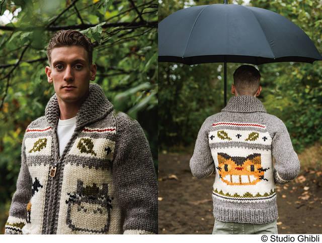 『となりのトトロ』がアメカジブランドとコラボ! 印象的なカナディアンヘリテージセーター発売