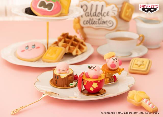 『星のカービィ』お菓子モチーフのフィギュアに♪ 手のひらサイズで超キュート!