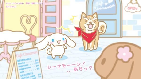 大人気「シナモロール」とTVアニメ『織田シナモン信長』スペシャルコラボイラスト解禁♪