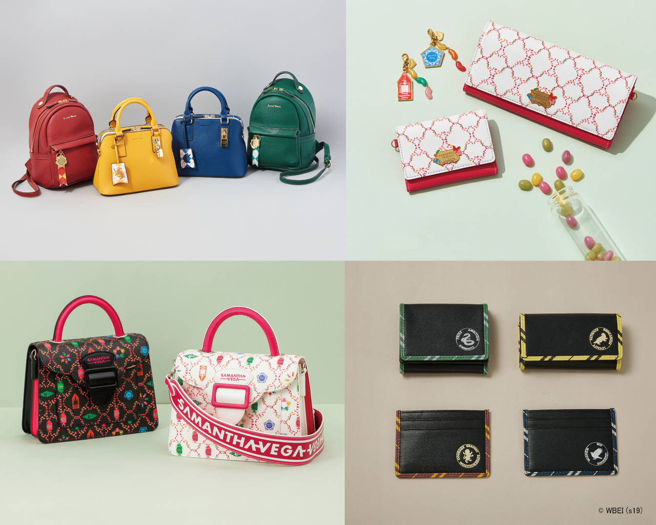 『ハリー・ポッター』×「サマンサタバサ」! ホグワーツ寮をイメージしたバッグや財布など♪