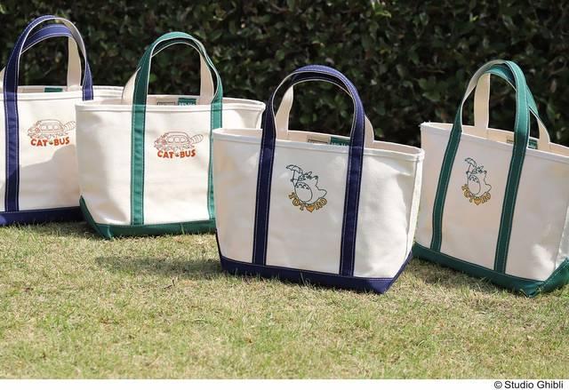 『となりのトトロ』が老舗アメカジブランドとコラボ♪ 使いやすいトートバッグを発売!