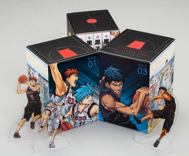 『黒子のバスケ』文庫版が完結! BOXイラスト「オールスター集合」描き下ろし♪