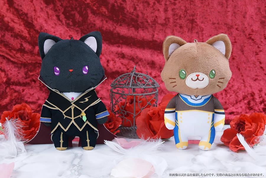 誕生日記念でルルーシュとスザクが猫に!『コードギアス』×「withCAT」ぬいぐるみキーホルダー発売決定!