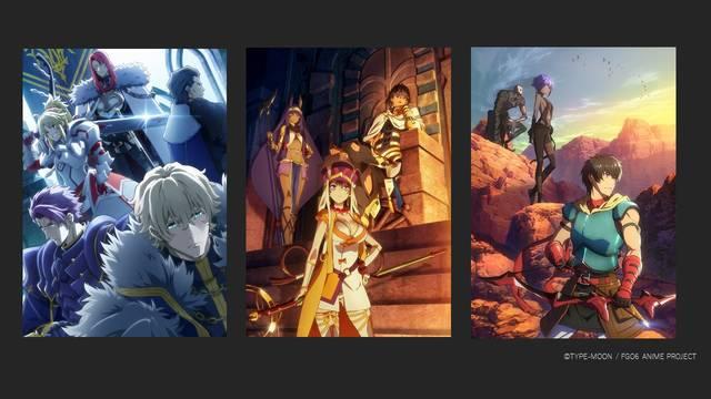 『劇場版 Fate/Grand Order -神聖円卓領域キャメロット-』前編、2020年夏公開決定!新ビジュアル3枚解禁!
