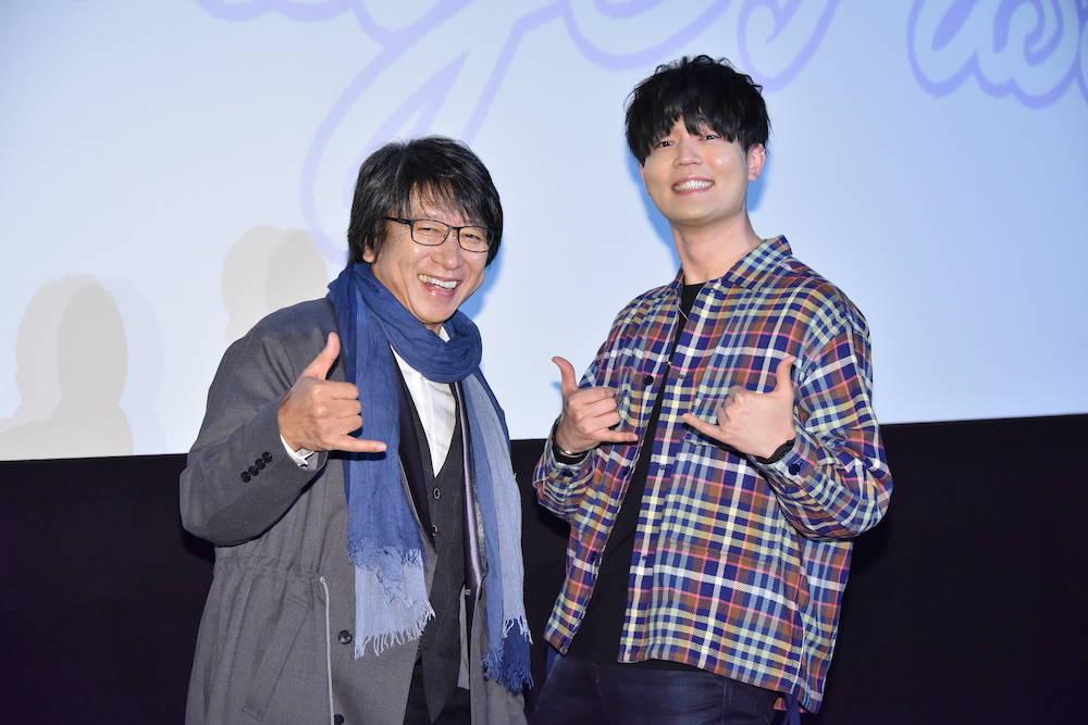 井上和彦&駒田航がARPメンバーのアフレコ裏話を披露!TVアニメ『ARP Backstage Pass』先行上映会レポート!