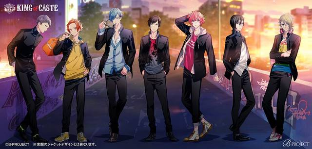 B-PROJECT『KING of CASTE』続編CDが発売!「REALMOTION LIVE2020」の開催も決定!