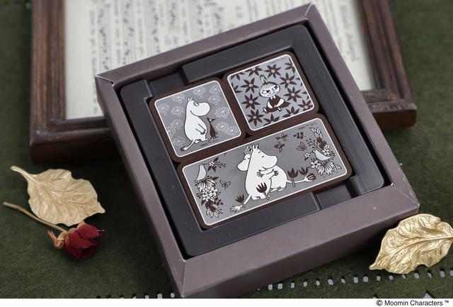 『ムーミン』新作チョコレートが多数発売! 可愛いデザインの「プレートチョコ」や「DECOチョコ」など