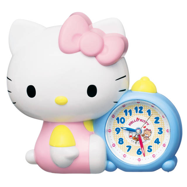 『ハローキティ』おしゃべり目覚まし時計が発売決定! 「お寝坊さんだとキティ、おこっちゃうぞ!」