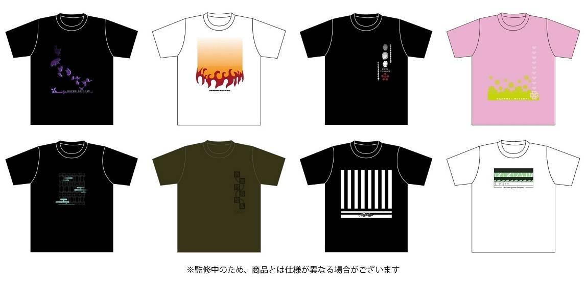 普段づかいしながら推せる♪『鬼滅の刃』柱8人のデザインTシャツが発売決定!