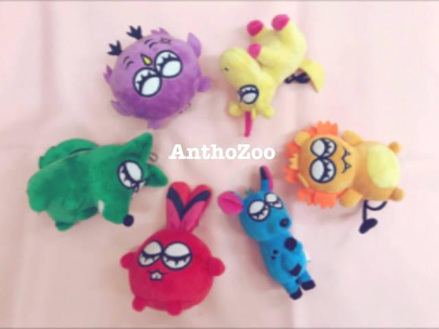 『華Doll*』Anthosメンバーを動物に見立てた【AnthoZoo】よりぬいぐるみキーホルダーが発売!