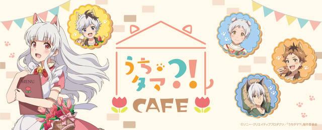 """『うちタマ?!』カフェ開催決定! コンセプトはモモの家""""喫茶チューリップ""""♪"""