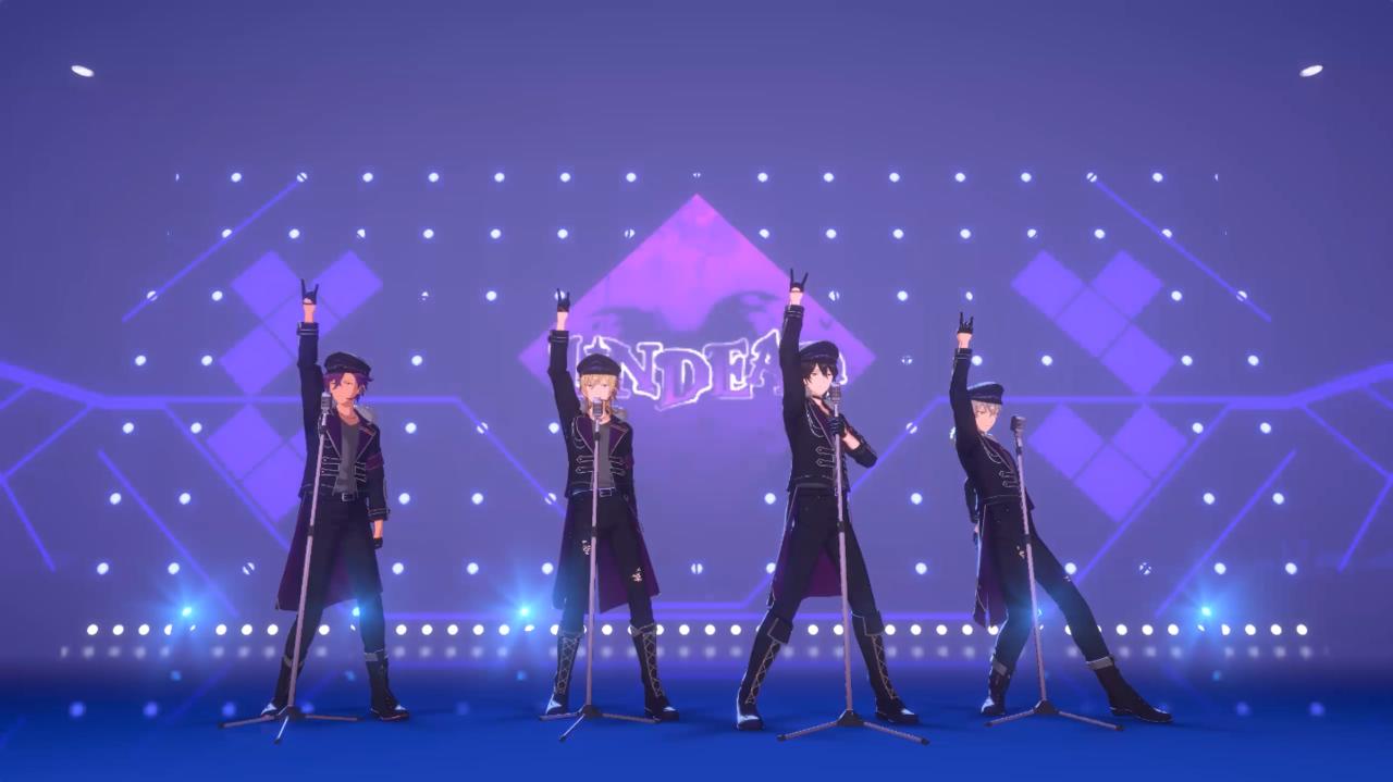 『あんさんぶるスターズ!!Music』UNDEAD「Melody in the Dark」ゲームサイズフルver.を公開!