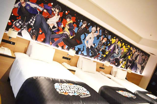 『ヒプマイ』キャラを堪能してきた♪「サンシャインシティプリンスホテル」写真レポート