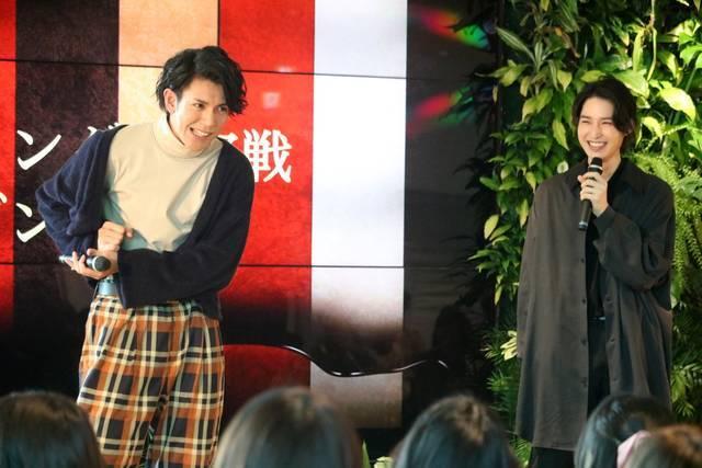 阪本奨悟 愛を古谷大和がダンスで…⁉ドラマ『チョコレート戦争』第二回生徒総会をレポート【後編】