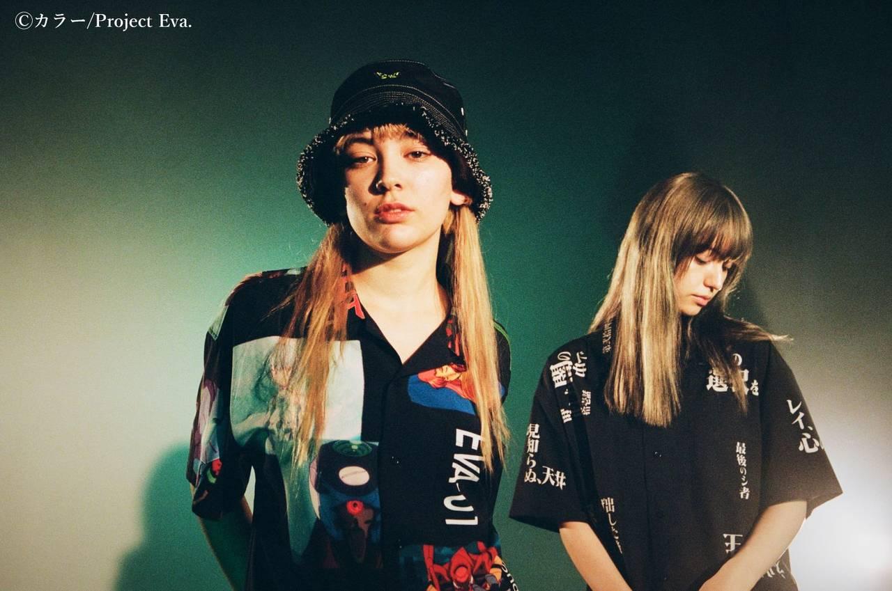 『エヴァンゲリオン』×「X-girl」♪ 台詞や名シーンがコラージュされた超オシャレなアイテム♪