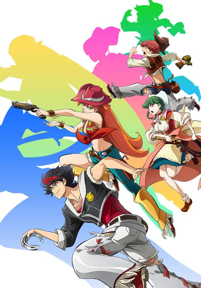 新アニメ『バック・アロウ』に梶裕貴、小野賢章、杉田智和ら出演! キャラ原案は『マギ』の大高忍!