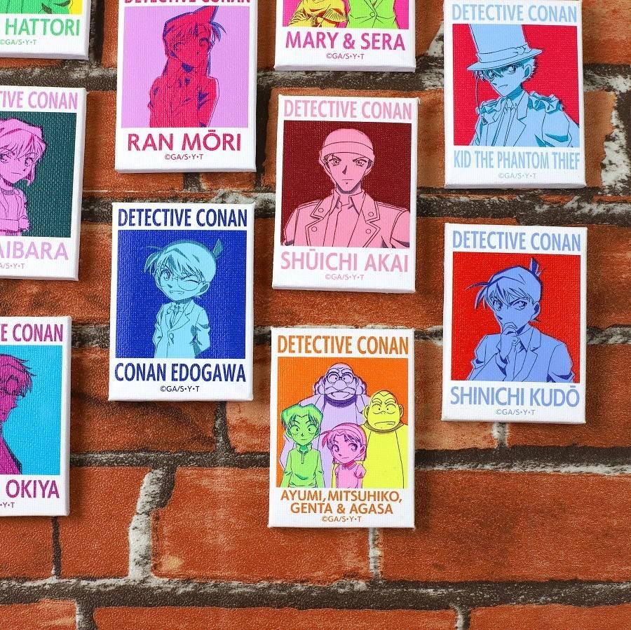 安室や赤井、怪盗キッドも♪ 『名探偵コナン』カラフルアートのグッズが多数登場!
