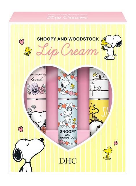 『スヌーピー』と「DHC」がコラボ♪ 可愛いデザインの薬用リップクリーム&リップバーム♪