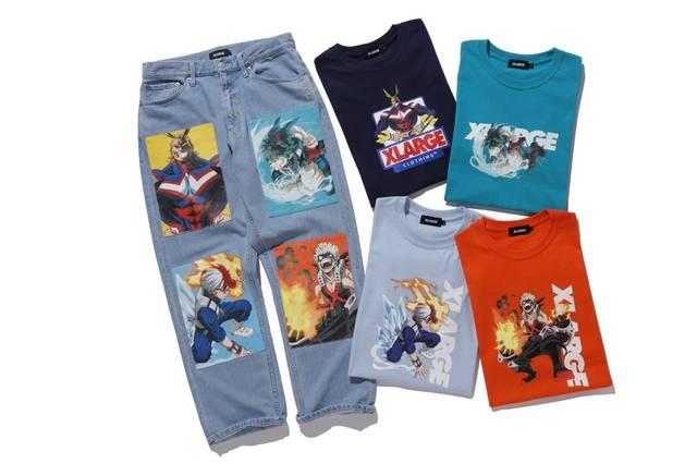 『僕のヒーローアカデミア』がストリートファッションブランド 「XLARGE」とコラボ♪