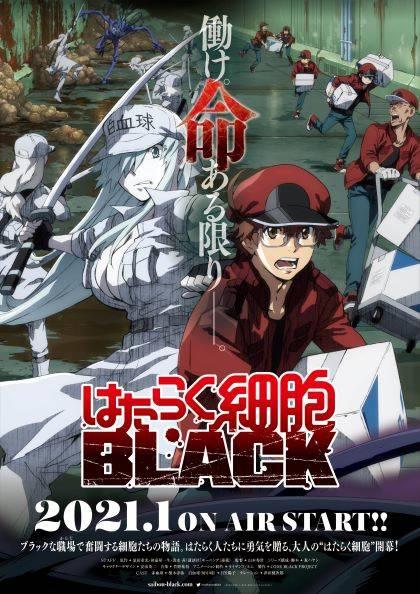 『はたらく細胞BLACK』待望のアニメ化決定&PV公開!津田健次郎「この為に不摂生してきたのだ!」