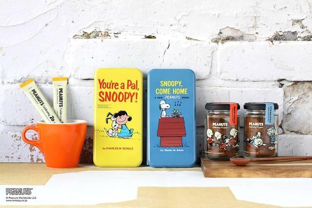 ヴィンテージ風で可愛い♪ 『スヌーピー』70周年記念デザインのコーヒーが登場!
