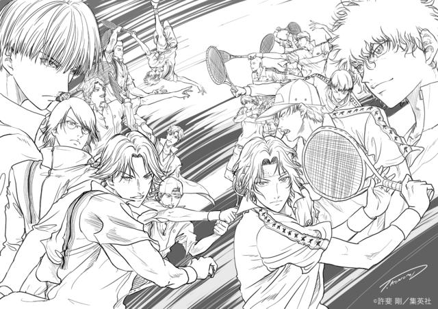 諏訪部順一のコメントも! 『新テニスの王子様 氷帝vs 立海 Game of Future』アニメ製作決定!