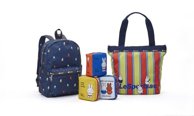 『ミッフィー』が「レスポートサック」と初コラボ! 可愛くて使いやすいバッグやポーチが登場!