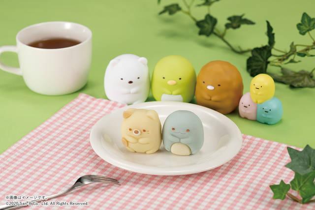 『すみっコぐらし』ねこ&とかげが和菓子になった! 見ても食べても楽しめる♪