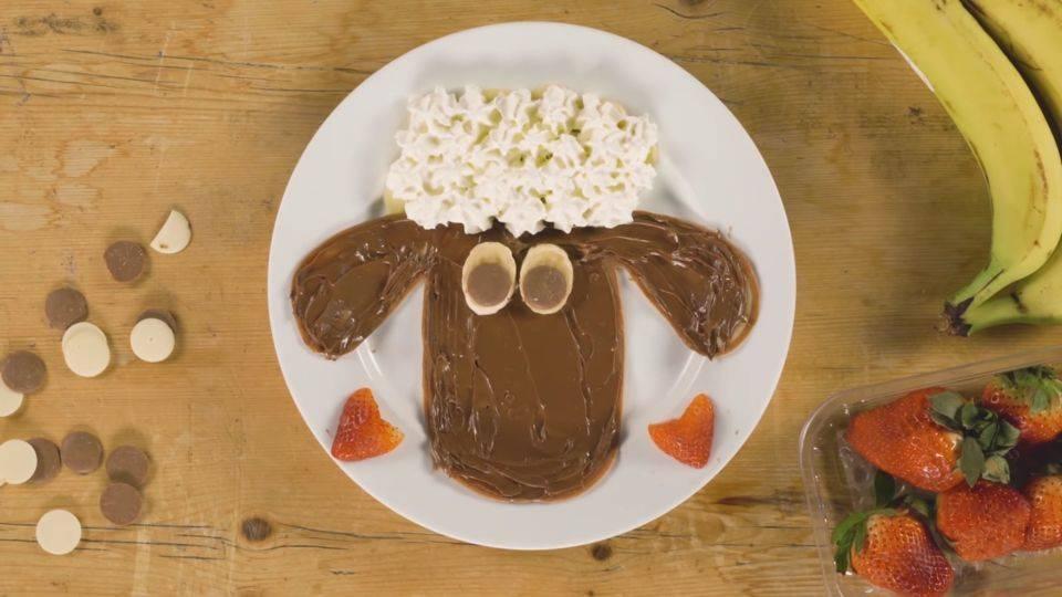 『ひつじのショーン』スイーツレシピ公開! 可愛いパンプキンパンケーキやチョコバナナプリンなど♪