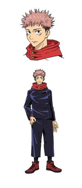 TVアニメ『呪術廻戦』榎木淳弥、内田雄馬らが演じるメインキャラクターの設定画が公開!
