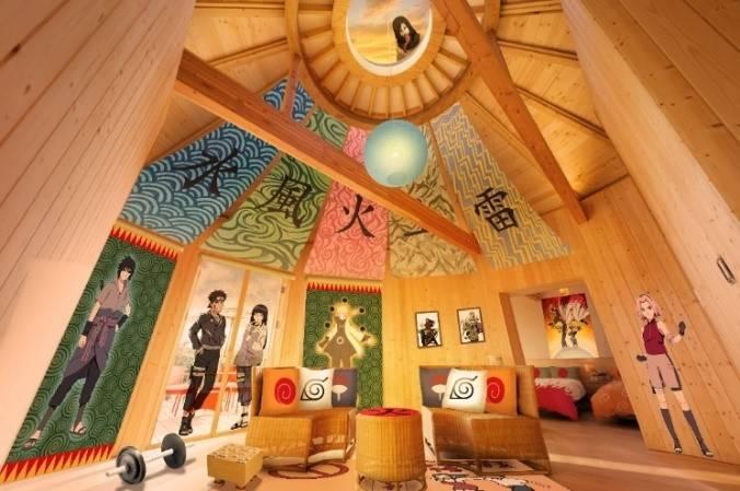 淡路島のグランピング施設に『NARUTO』コラボルームが登場! 火影の別荘が楽しめる♪