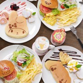 『サンリオカフェ池袋店』オープン! テイクアウト専門のカフェワゴンも♪