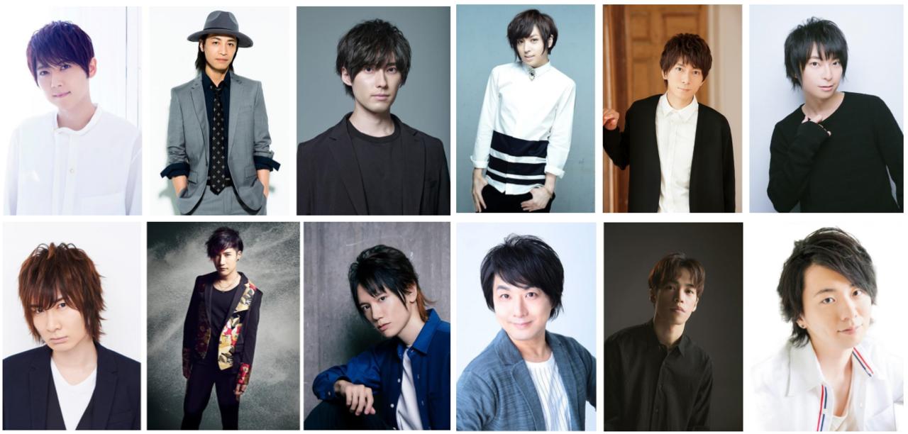 TVアニメ『ツキウタ。2』主題歌を歌う豪華メンバー12名のコメントが到着!