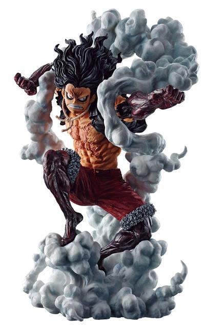 『ONE PIECE』一番くじ最新作! ルフィのギア4「スネイクマン」や「バウンドマン」のフィギュア登場!