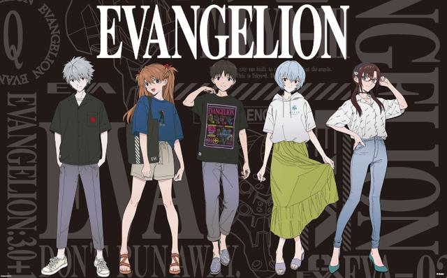 『エヴァンゲリオン』×『ジーユー』! オシャレで使いやすいデザインのシャツやパーカー♪