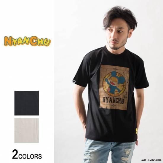 『ニャンちゅう』レトロ可愛いTシャツが登場! ヴィンテージ風のデザインがおしゃれ♪