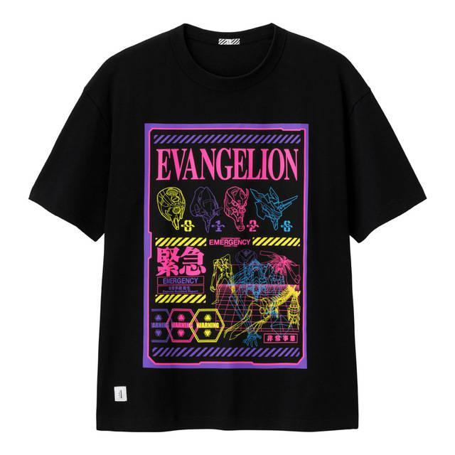 GUの『エヴァンゲリオン』シャツ、どう着る?キレイ目にも派手にも!おすすめコーデ4選♪